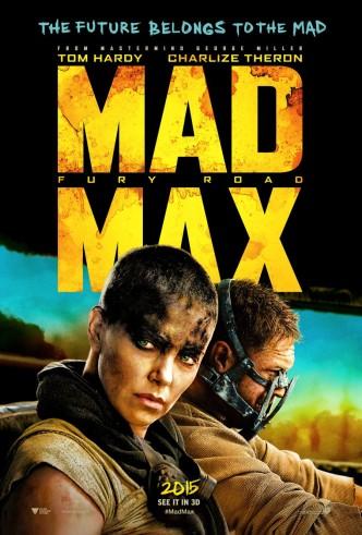 Безумный Макс: Дорога ярости / Mad Max: Fury Road (2015): постер