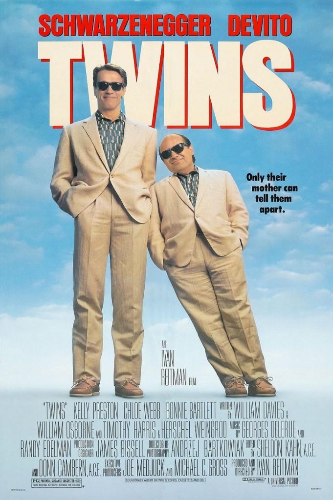 Близнецы / Twins (1989): постер