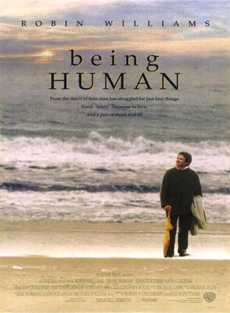 Быть человеком / Being Human (1994): постер
