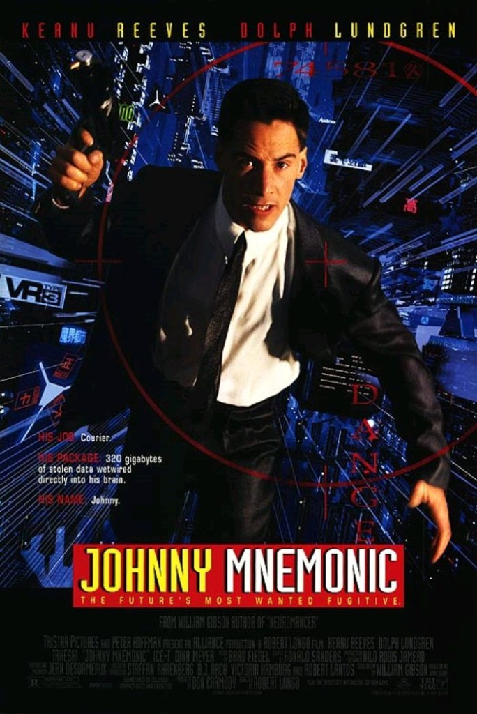 Джонни Мнемоник / Johnny Mnemonic / Johnny Mnémonique (1995): постер