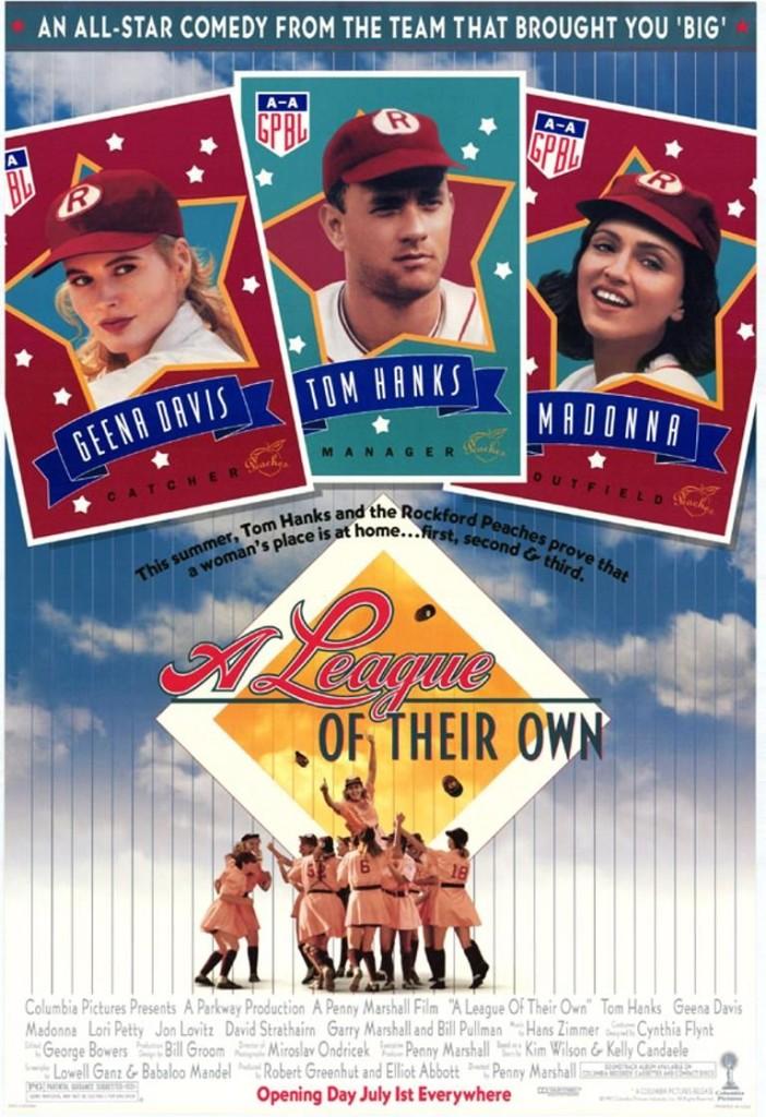 Их собственная лига / A League of Their Own (1992): постер