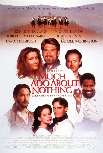 Много шума из ничего / Much Ado About Nothing (1993): постер