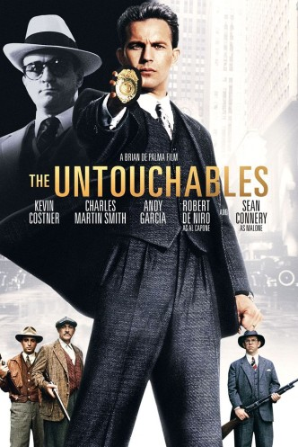 Неприкасаемые / The Untouchables (1987): постер