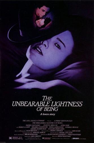Невыносимая лёгкость бытия / The Unbearable Lightness of Being (1988): постер
