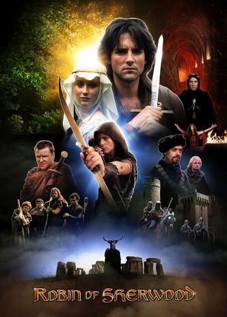 Робин из Шервуда / Robin of Sherwood (1984-1986) (телесериал): постер