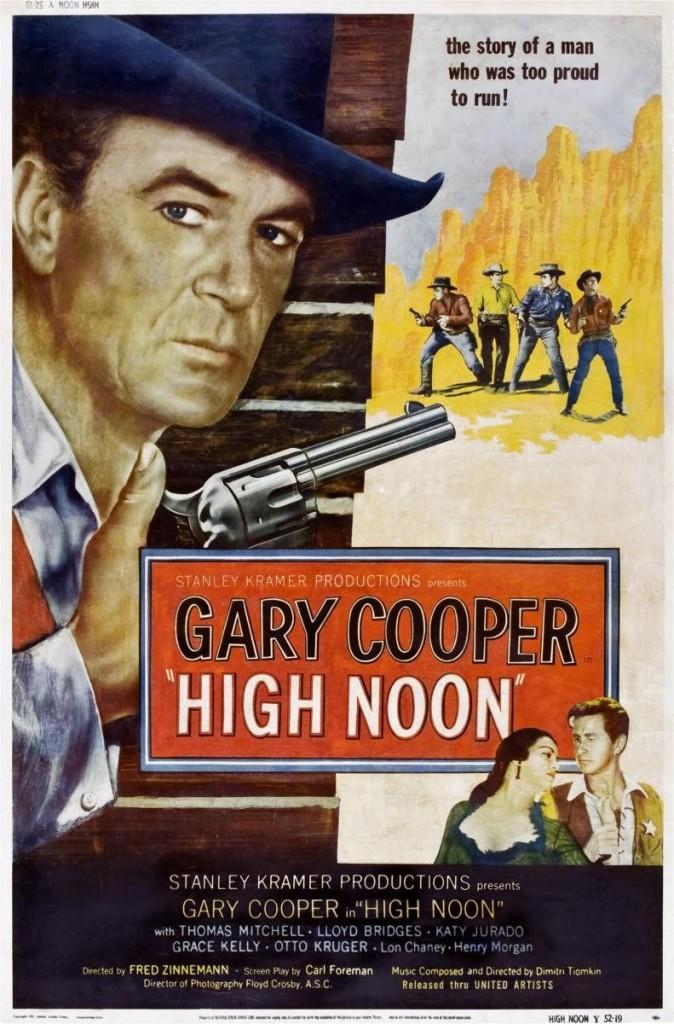 Ровно в полдень / High Noon (1952): постер