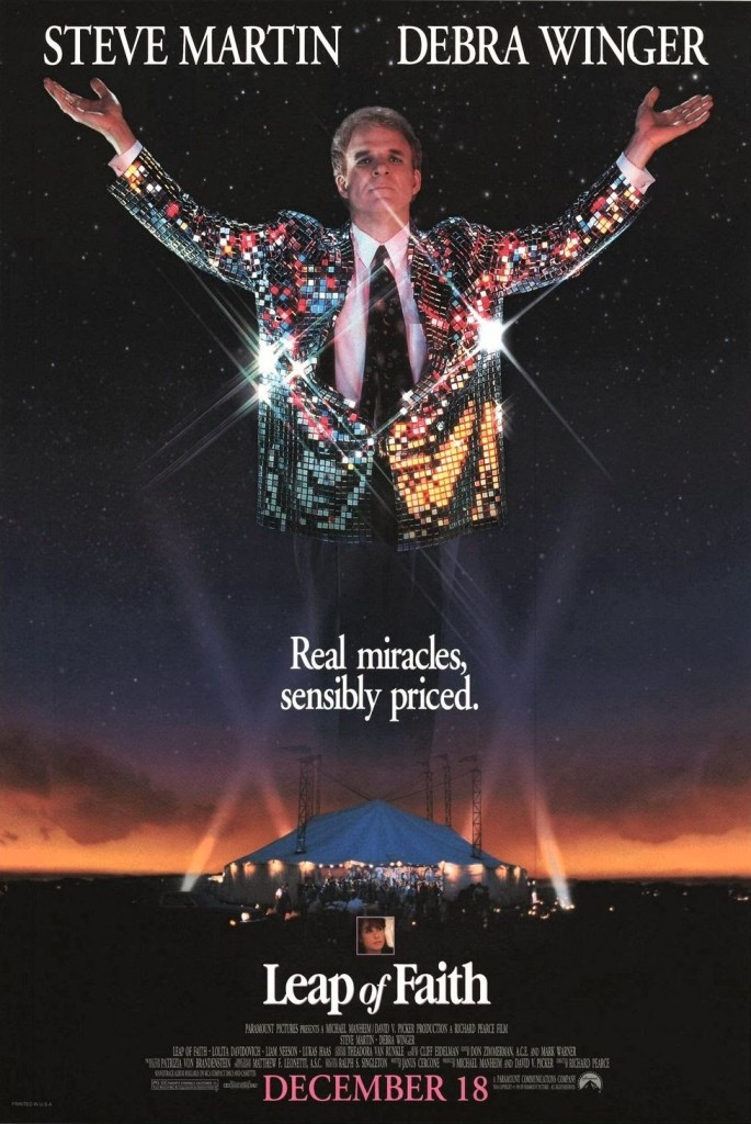 Сила веры / Leap of Faith (1992): постер