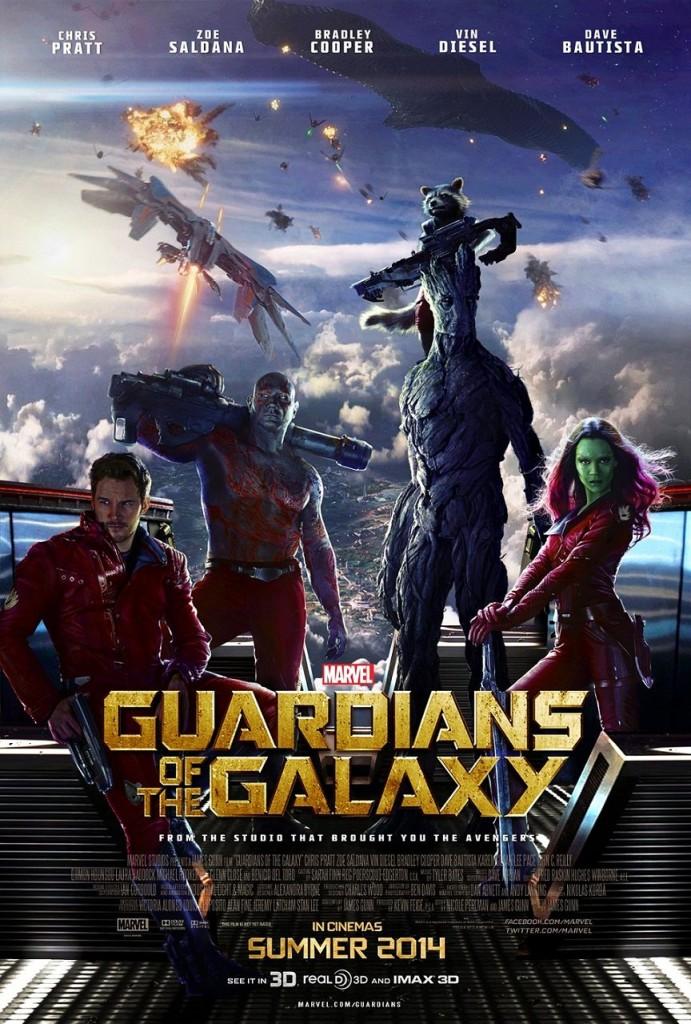 Стражи Галактики / Guardians of the Galaxy (2013): постер