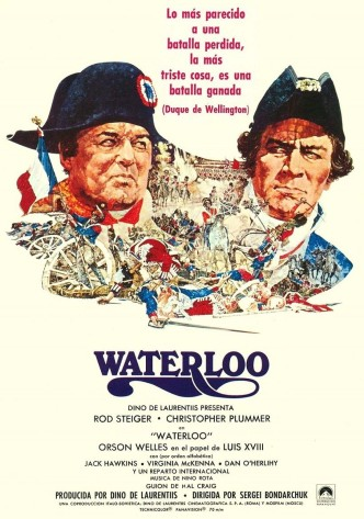 Ватерлоо / Waterloo (1970): постер