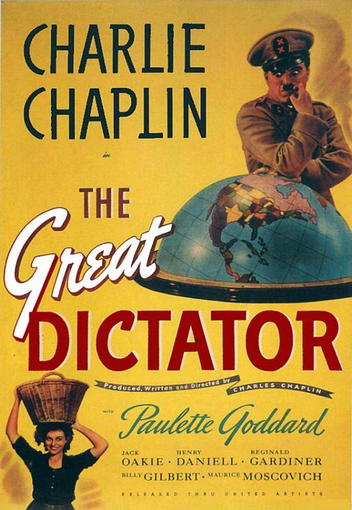Великий диктатор / The Great Dictator (1940): постер