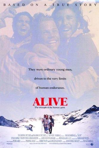 Живые / Alive / Les survivants (1993): постер