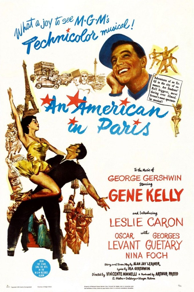 Американец в Париже / An American in Paris (1951): постер