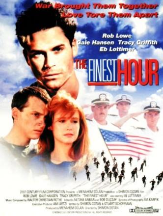 Час блаженства / The Finest Hour (1992): постер