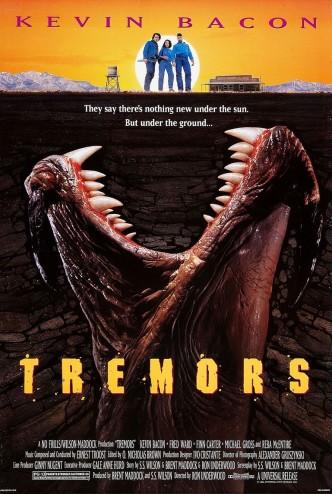 Дрожь земли / Tremors (1990): постер