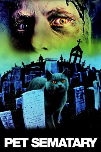 Кладбище домашних животных / Pet Sematary (1989): постер