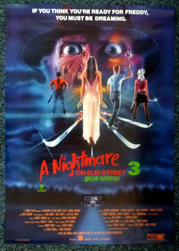 Кошмар на улице Вязов 3: Воины сна / A Nightmare on Elm Street 3: Dream Warriors (1987): постер