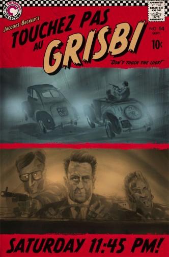 Не тронь добычу / Touchez pas au grisbi (1954): постер