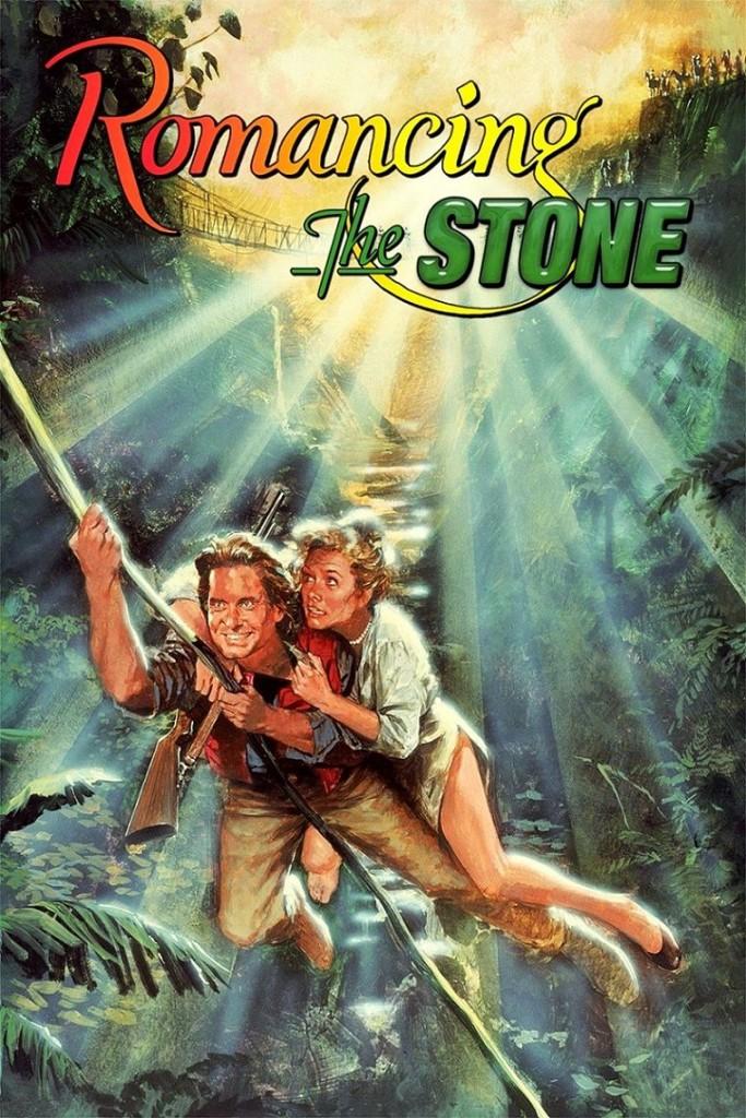 Роман с камнем / Romancing the Stone (1984): постер