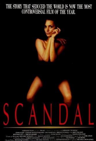 Скандал / Scandal (1989): постер
