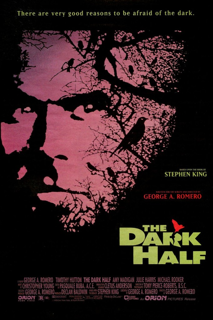 Тёмная половина / The Dark Half (1993): постер
