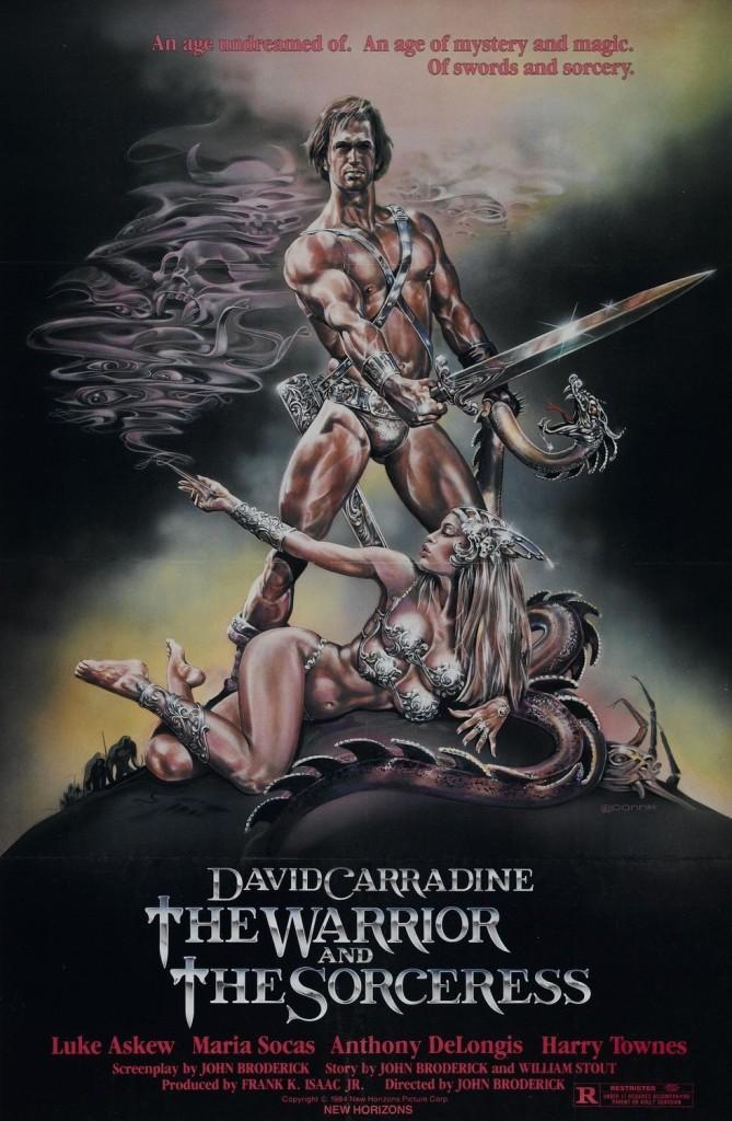 Воин и колдунья / The Warrior and the Sorceress (1984): постер