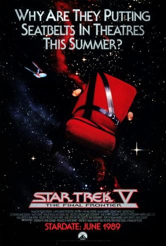 Звездный Путь 5: Последний рубеж / Star Trek V: The Final Frontier (1989): постер