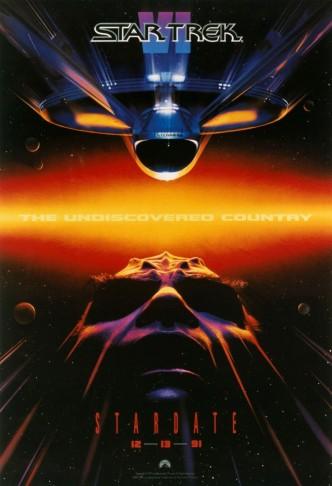 Звёздный путь 6: Неоткрытая страна / Star Trek VI: The Undiscovered Country (1991): постер