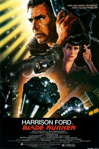 Бегущий по лезвию / Blade Runner (1982): постер