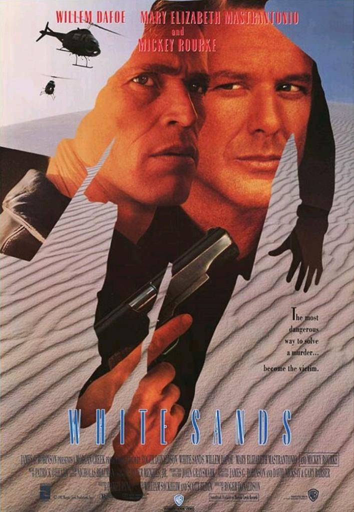 Белые пески / White Sands (1992): постер