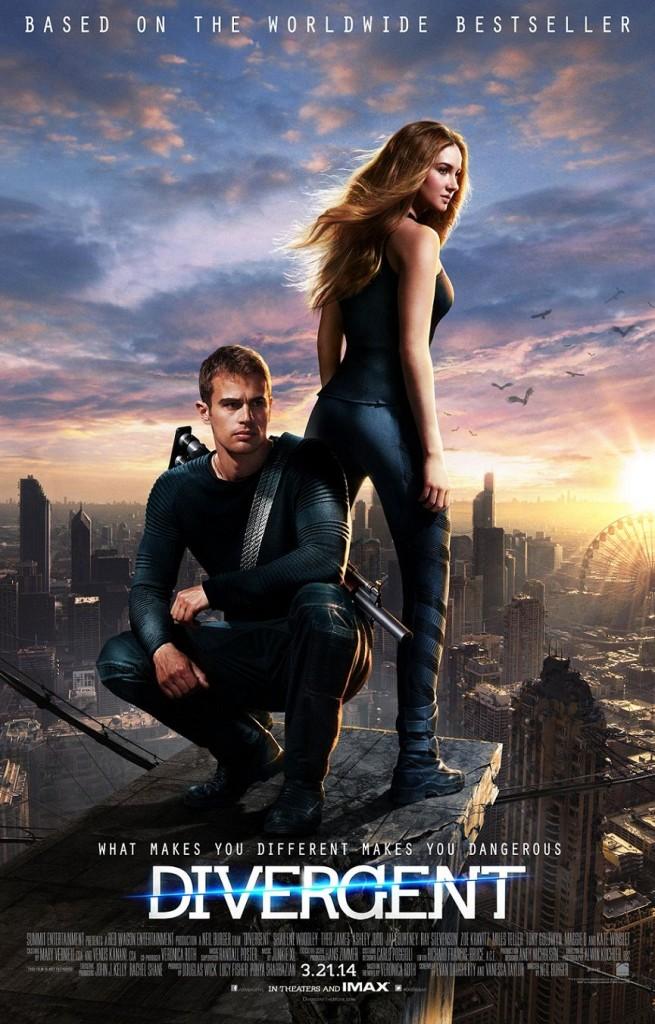 Дивергент / Divergent (2014): постер