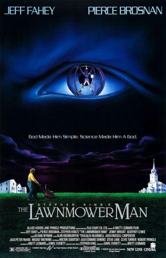 Газонокосильщик / The Lawnmower Man (1992): постер