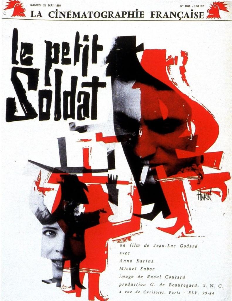 Маленький солдат / Le petit soldat (1963): постер