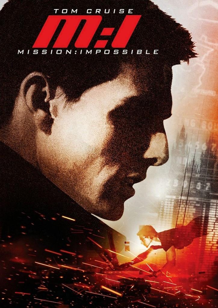 Миссия невыполнима / Mission: Impossible (1996): постер