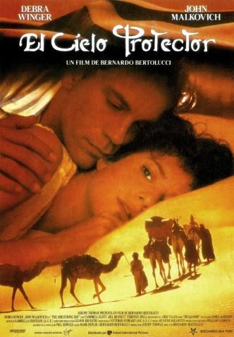 Под покровом небес / The Sheltering Sky (1990): постер
