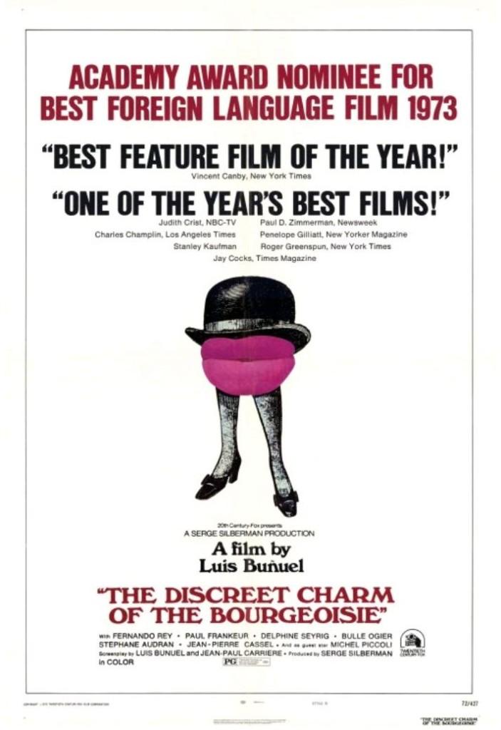 Скромное обаяние буржуазии / Le charme discret de la bourgeoisie (1972): постер