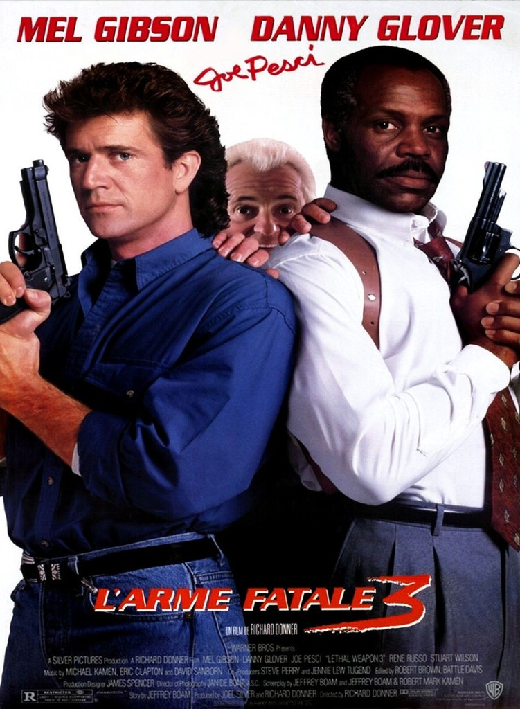 Смертельное оружие 3 / Lethal Weapon 3 (1992): постер