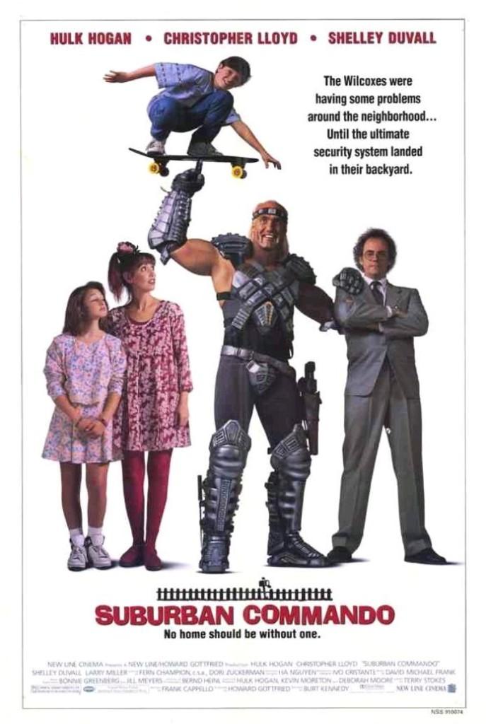 Коммандо из пригорода / Suburban Commando (1991): постер