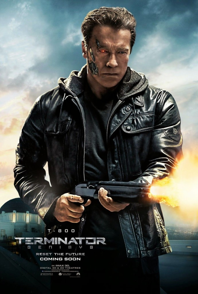 Терминатор: Генезис / Terminator Genisys (2015): постер