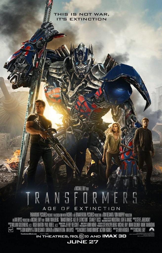 Трансформеры: Эпоха истребления / Transformers: Age of Extinction (2014): постер