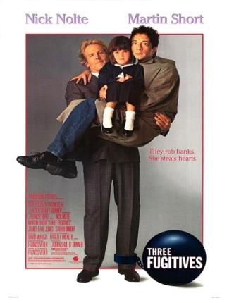 Три беглеца / Three Fugitives (1989): постер
