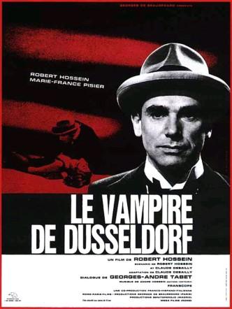 Вампир из Дюссельдорфа / Le vampire de Düsseldorf (1965): постер