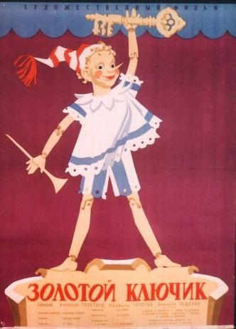 Золотой ключик / Zolotoy klyuchik (1939): постер