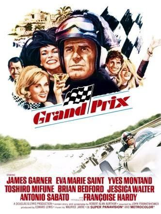 Большой приз / Grand Prix (1966): постер