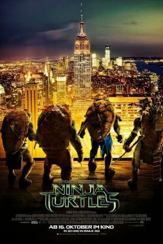 Черепашки-ниндзя / Teenage Mutant Ninja Turtles (2014): постер
