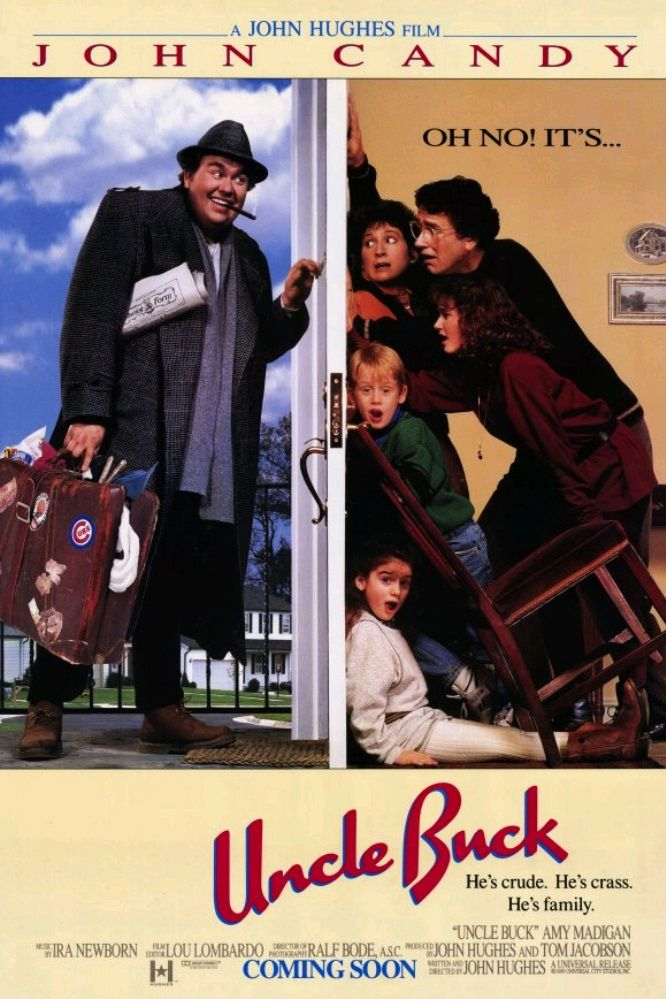Дядюшка Бак / Uncle Buck (1989): постер