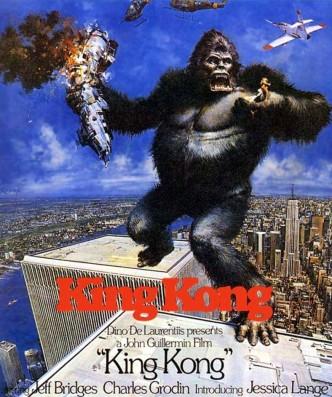 Кинг-Конг / King Kong (1976): постер