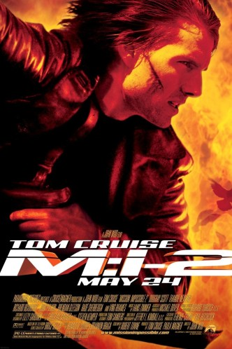 Миссия невыполнима 2 / Mission: Impossible II (2000): постер