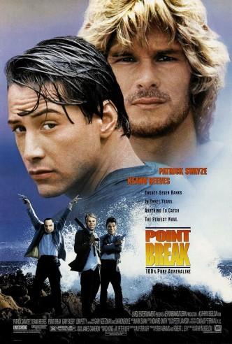 На гребне волны / Point Break (1991): постер