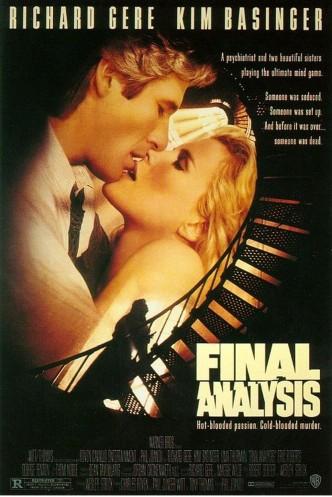 Окончательный анализ / Final Analysis (1992): постер