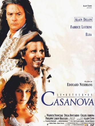 Возвращение Казановы / Le retour de Casanova (1992): постер